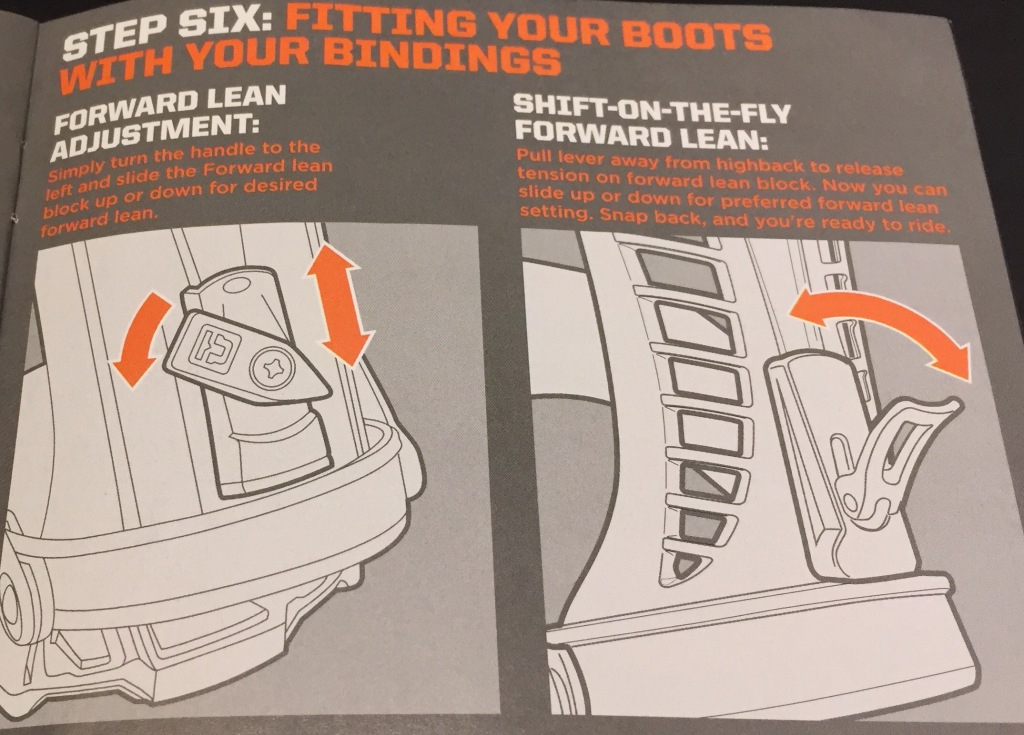 Step Six: Fitting Your Boots With Your Bindings - Forward Lean Adjustment