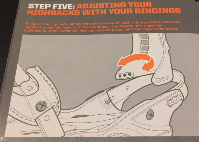 Step Five : Adjusting Your Highbacks with Your Bindings