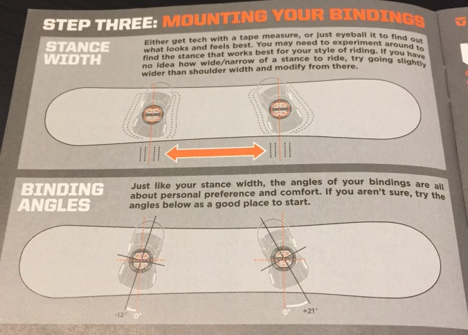 Step Three: Mounting Your Bindings -Stance Width and Binding Angles