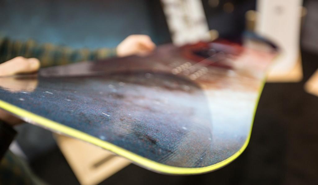 單板滑雪裝備調整