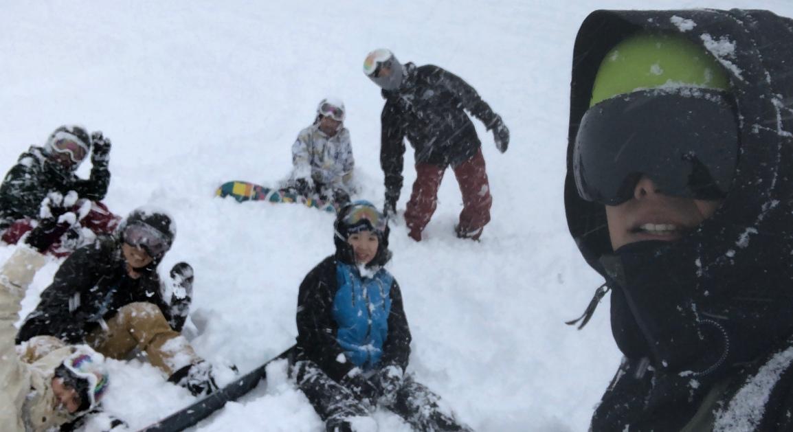 滑雪人的五個階段